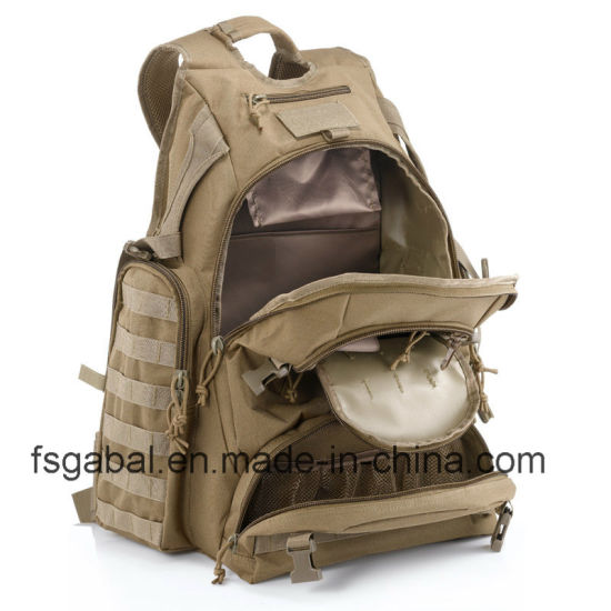 Large Waterproof Outdoor Sports Travel Hiking Army Tactical Bag Backpack pictures & photos