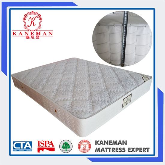 2016 Made in China Wholesale Pocket Spring Mattress Rolled in a Box pictures & photos