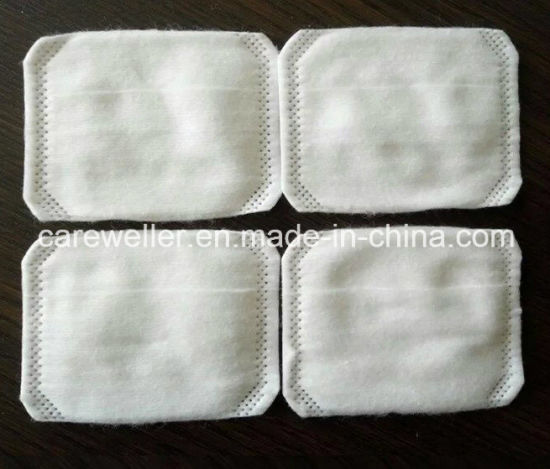 100% Cotton Square Cosmetic Pad for Skin Care pictures & photos