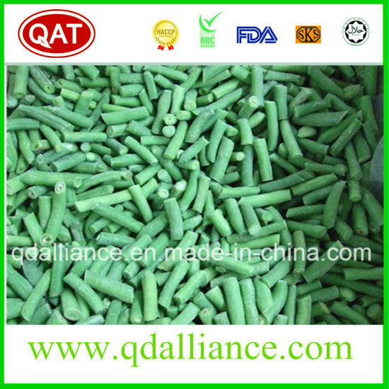 China IQF Frozen Cut Green Beans with Brc Kosher Certificate