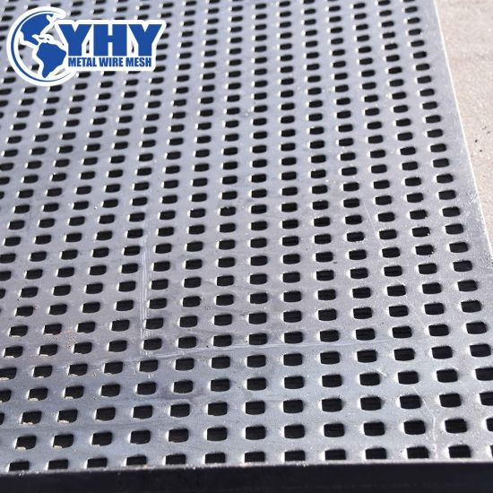 Yhy Heavy Duty Perforated Mesh Used for Crusher Screen Machine
