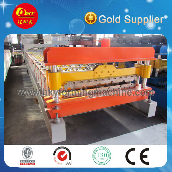 Gi Steel Tile Wall Panel Forming Machinery Manufacturing Line