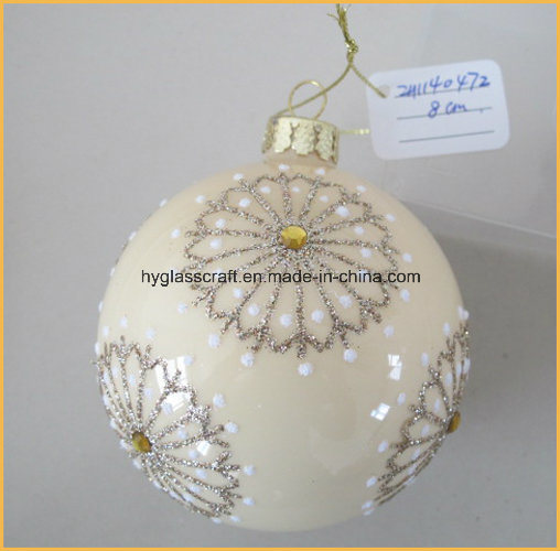 Hand Made Christmas Glass Crafts for Christmas Decoration
