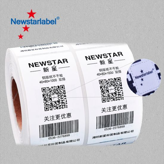 Blank and Barcode Adhesive Waterproof Electronic Labels Width 4inch Length  6inch Blank and Barcode Self Adhesive Labels 101 6mm X 152 4mm