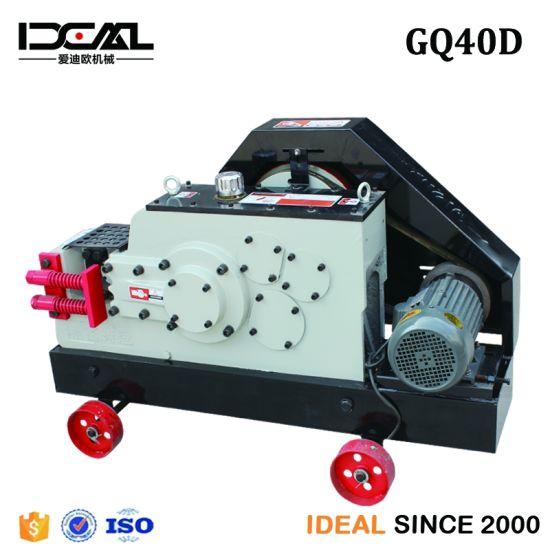 China Gq40d Circular Blade Steel Bar Cutting Machine
