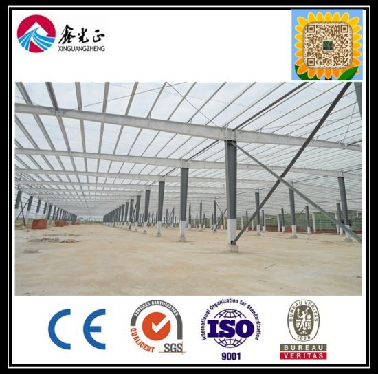 China Ce & BV Approved Prefabricated Steel Frame Workshop (ZY166 ...