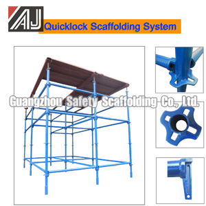 Time Saving! ! ! Africa Steel Quick Lock Scaffolding System for Supporting Concrete Walls, Slab Beam and Roof Consturction, Guangzhou Manufacturer