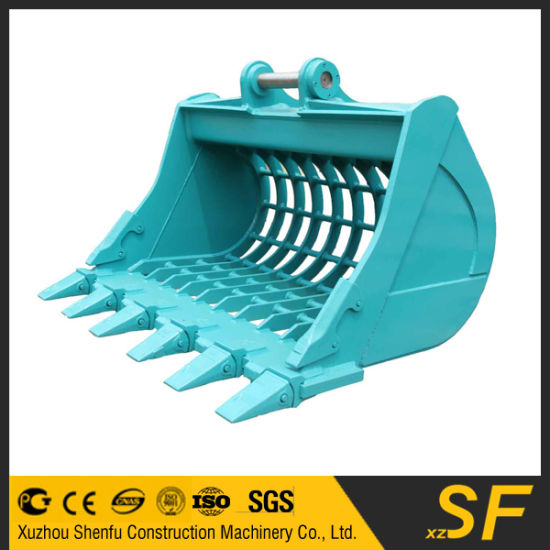 Excavator Attachments Skeleton Bucket, Sieve Bucket pictures & photos