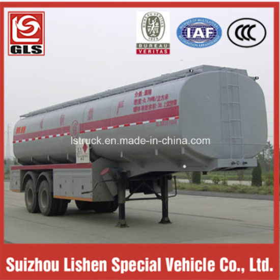 2-Axle 35t Chemical Liquid Tanker Truck Trailer pictures & photos