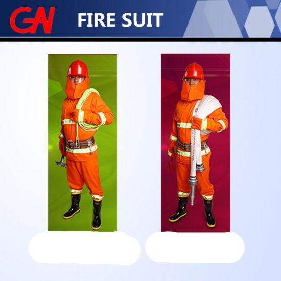 Customized Fire Fighting Suit of Five-Piece Set