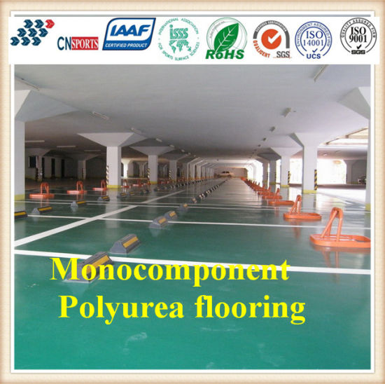 Simple Construction and Convenient Renovation Monocomponent Polyurea Flooring pictures & photos