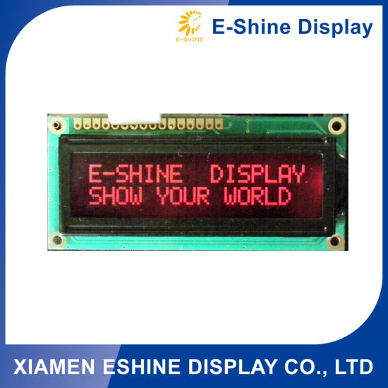 1602 FSTN Red Character Positive LCD Module Monitor Display