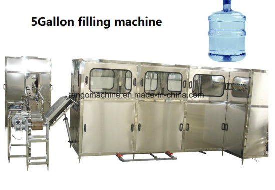 200bph 300bph 450bph 5 Gallon Bottle Drinking Water Filling Capper Machine pictures & photos