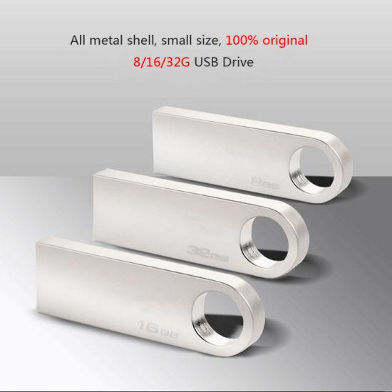 Wholesale Mini Metal USB Flash Drive with Logo Printing (SE9)