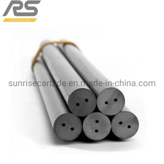 Tungsten Carbide Rod with Two Straight Holes