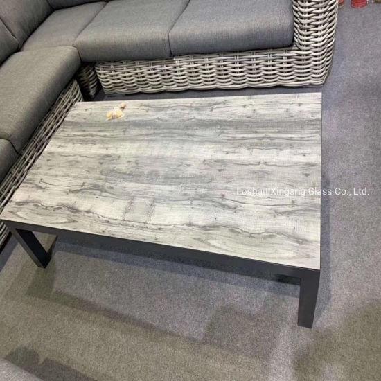 China Decorative Gl Patio Furniture