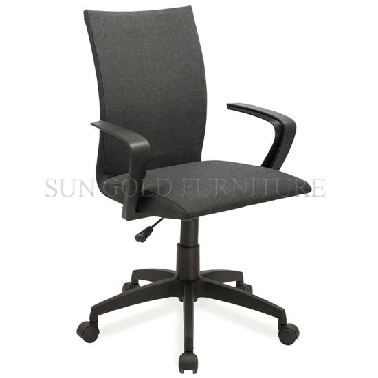 Cheap Black Fabric Rotary Nylon Base Computer Chair Office Furniture pictures & photos