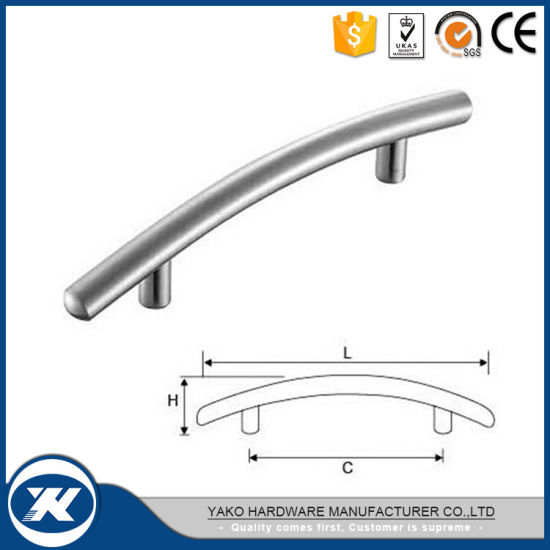 Wholesales Professional Stainless Steel Kitchen Cabinet Handle (YFH-004)