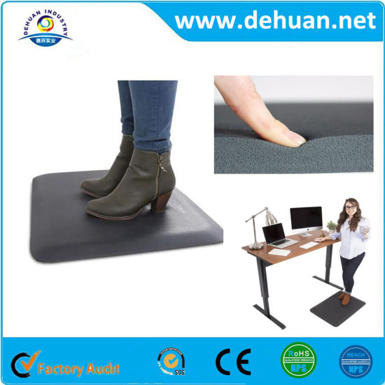 China Office Home Pu Foot Massage Standing Desk Kitchen