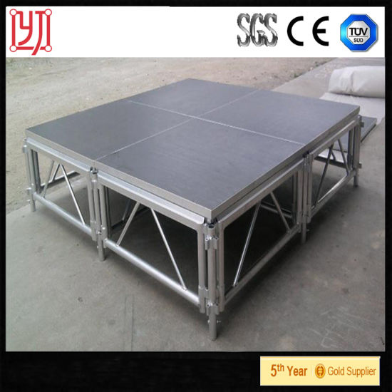 China Hot Sale Stage Equipment Portable Event Stage With Aluminum