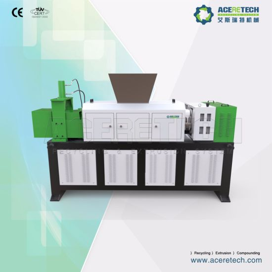 PE LDPE Plastic Film Squeezing Machine for Recycling Line