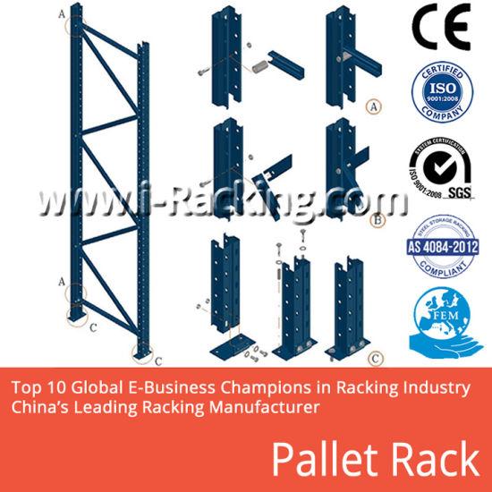 Hot! Steel/Metal Pallet Heavy Duty Warehouse Storage Rack