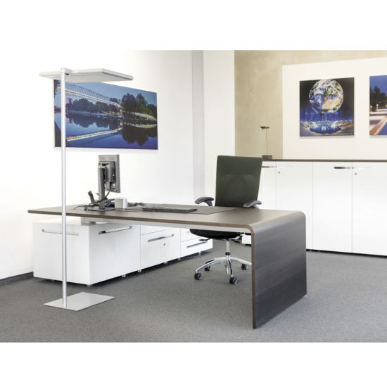 Veneer Type Executive Design Top Manager Office Table