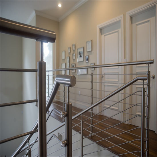 8 mm Solid Handrail Stainless Steel Rod Railing