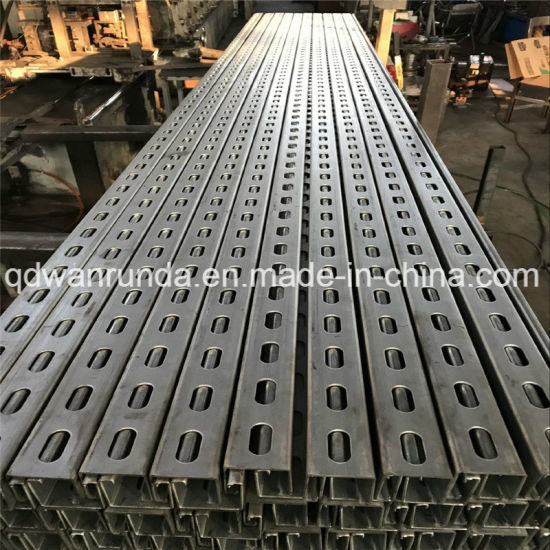 Chinese Unistrut Channel Slotted - China Unistrut Channel, C