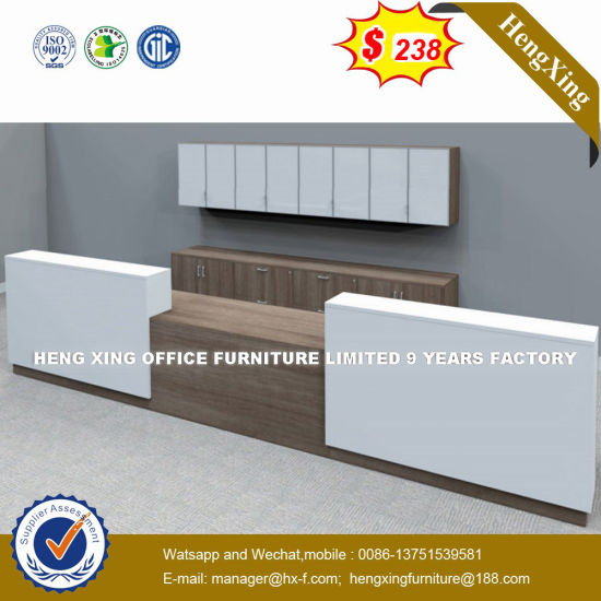 Customized MDF Reception Desk Italy Design Financial Desk (HX-8N2147)