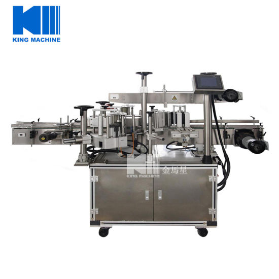Automatic Self-Adhesive Labeling Machine for Round Bottles