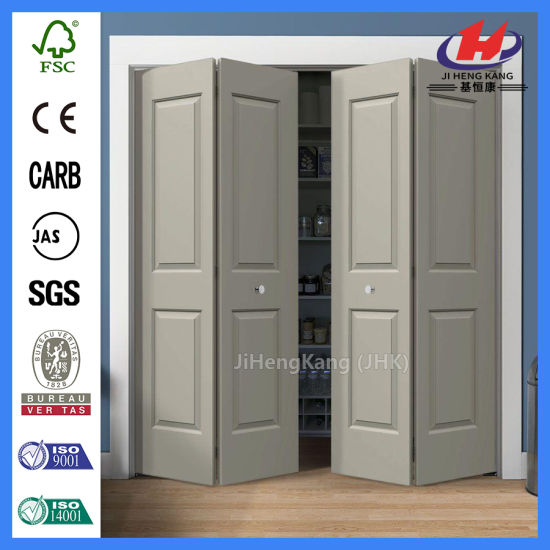 China 2 Panel Internal Composite Bifold Kitchen Folding Door - China ...