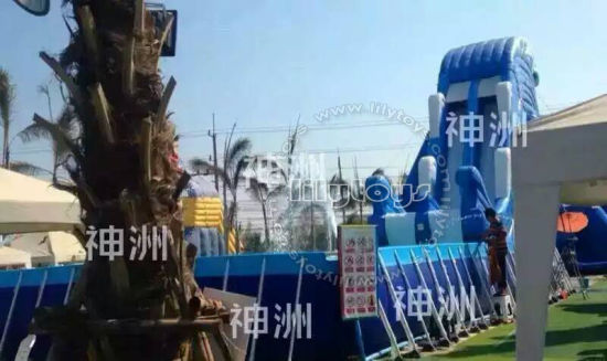 Giant Inflatable Water Park Water Slide for Adults pictures & photos