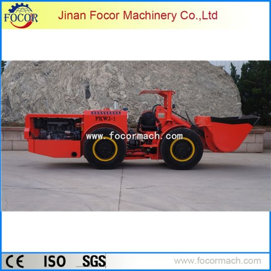 Underground Mining Equipment Fkwj-1 Diesel Scooptram