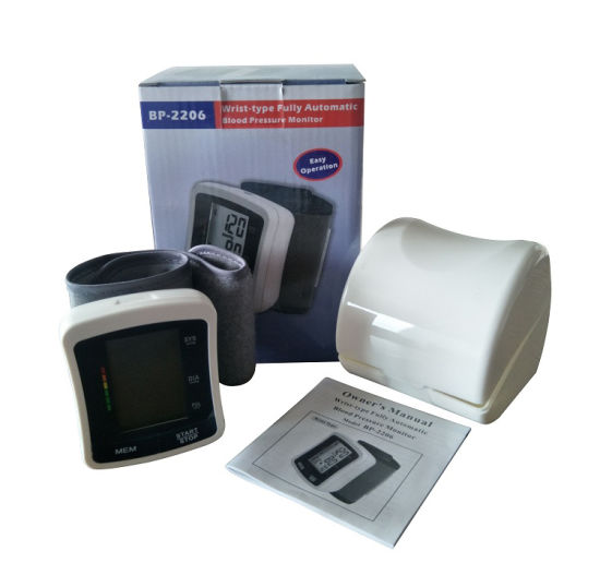 Wrist-Type Automatic Blood Pressure Monitor for Medical pictures & photos