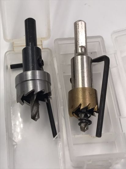 HSS Step Drill Straight Flute Core Drill M2 M35 HSS Hole Saw for Stainless Steel Drill Bits