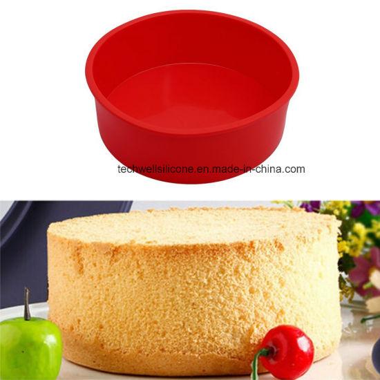 Classic 8inch Non Stick Silicone Round Cake Mold