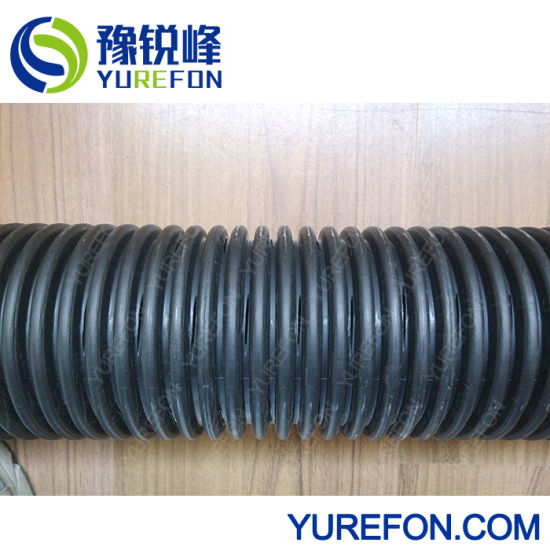 PP PE Plastic Single-Wall & Double-Wall Corrugated Pipe Perforating Machine pictures & photos