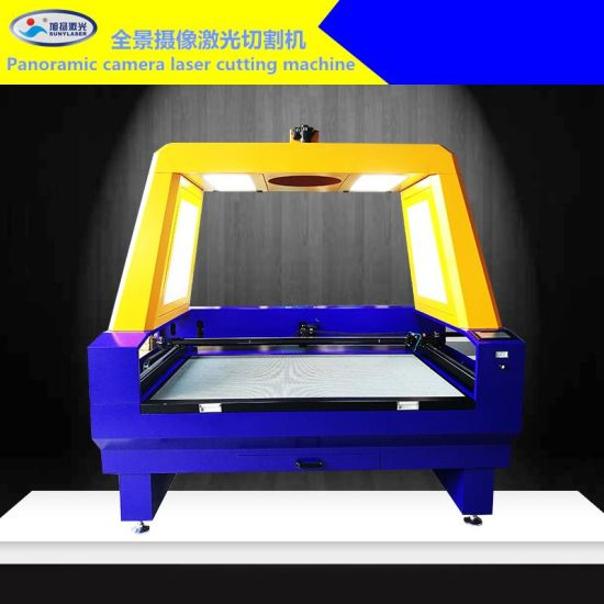 Top Quality Panomatic Camera Laser Cutter for Embroidery