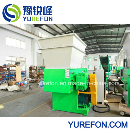 New Model Single Shaft Shredder for Recycling Wood Pallet pictures & photos