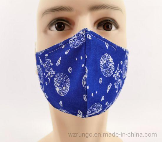 Wholesale Fashion Cotton Mouth Washable Cotton Face Dust Mask