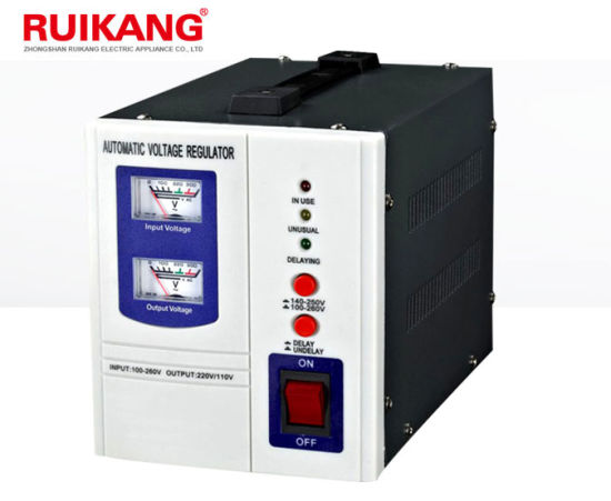 China Household 1kw 220V AC Electronic Automatic Voltage Stabilizer ...
