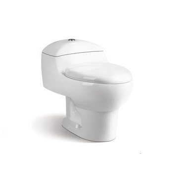 (No. 328) Cheap Siphonic One Piece Ceramic Toilet