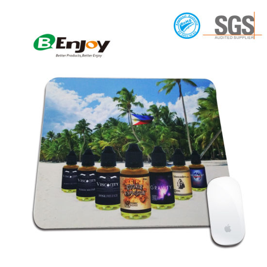 china sublimation custom design computer rubber mouse pad for