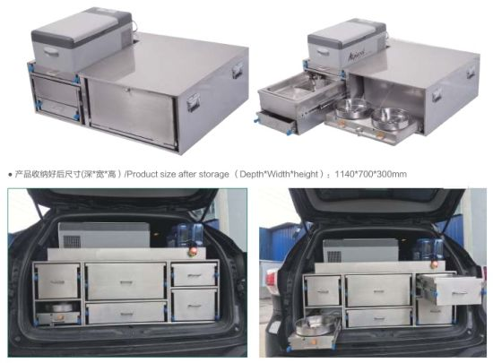 Marine Boat Cavaran Camper Camping Motorhome Rv Outdoor Mobile Fast Kitchen Stainless Steel Suv Rear Trunk Kitchen Kit China Boat Kitchen Rv Kitchen Made In China Com