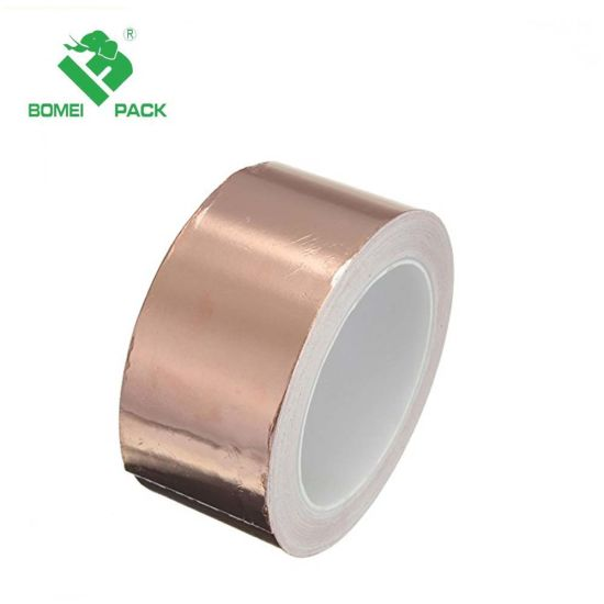 Copper Foil Tape (2inch X 18FT) for Guitar and EMI Shielding, Slug Repellent, Crafts, Electrical Repairs, Grounding - Conductive Adhesive pictures & photos