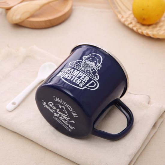 High Quality Price Wholesale Enamel Enamel Coffee Cup Decorating Mug