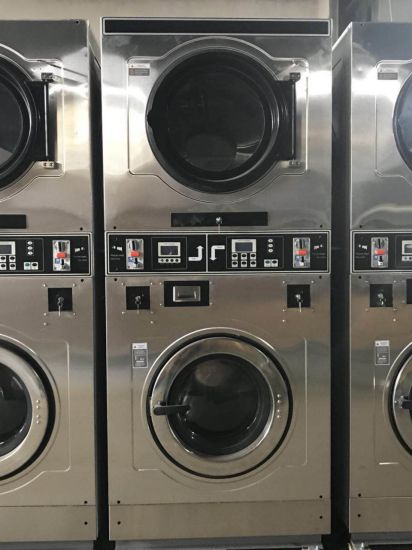 double stack washer and dryer. Commercial Double Stack Washer Dryer Combo All In One And
