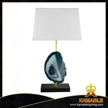 Modern Elegant Living Room Agate Table Lamp (TL3009)