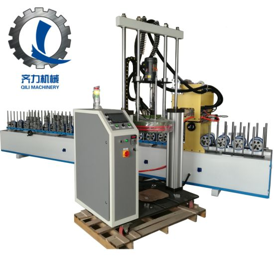 Woodworking PVC PUR Profile Wrapping Machine